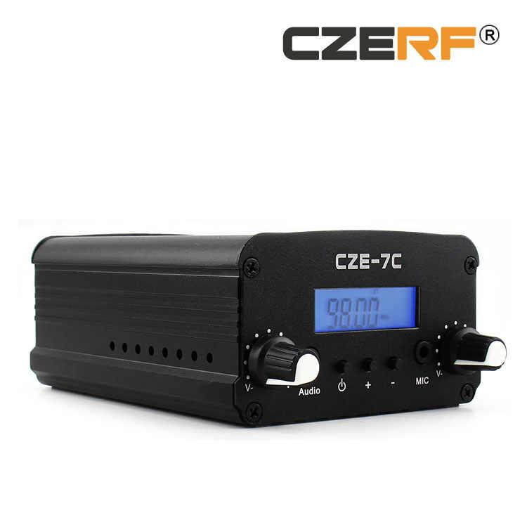 送料無料 CZE-7C 1 ワット/7 ワットワイヤレス長距離 fm トランスミッター 1/4 波 GP アルミアンテナキット