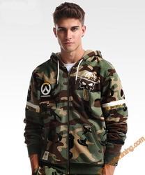 Over ow watch game mccree hero hoodies watch over ow game cosplay hoodie zip up army.jpg 250x250