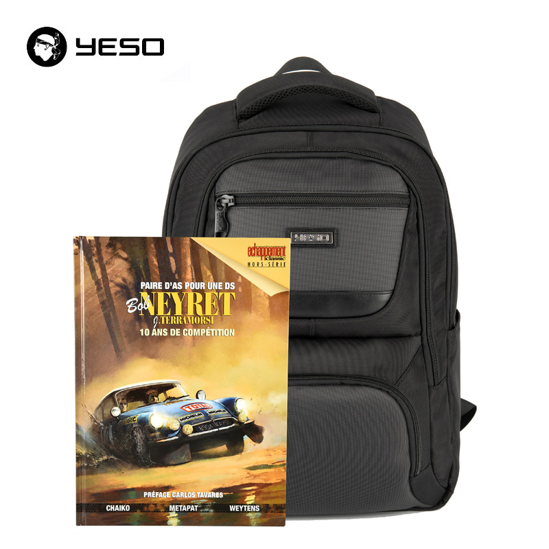 YESO Backpack Men Waterproof Oxford Fit Under 17.3 Inch Laptop Notebook Computer Tablet Multifunction School bag Travel Backpack