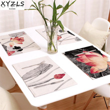 XYZLS 4pcs/Set Kitchen Table Mats Traditional Chinese Cotton Linen Table Placemats Dining Table Mat  sc 1 st  AliExpress.com & Chinese Table Settings Promotion-Shop for Promotional Chinese Table ...