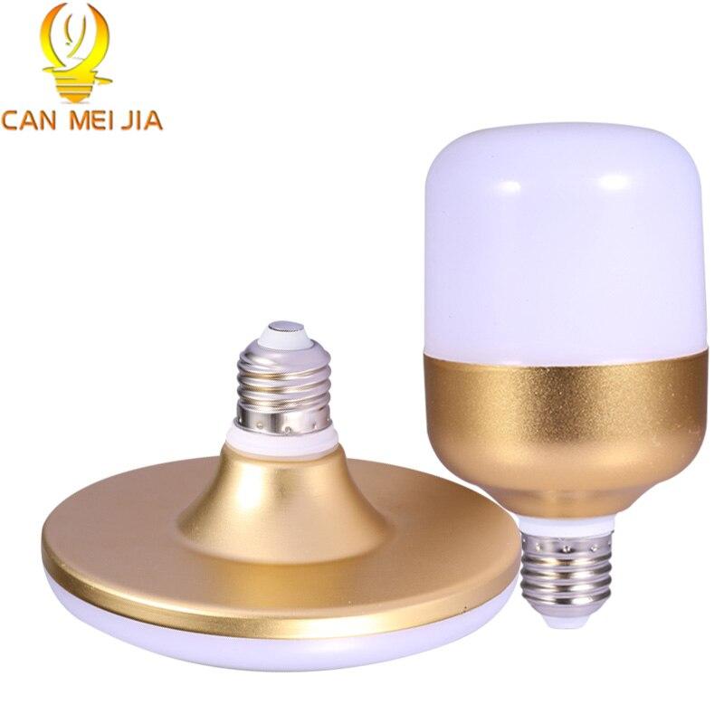 CANMEIJIA E27 LED Bulb 15W 20W 30W 40W 220V Bombilla Led Lamp Lights usd for Spotlight Ceilling Table Lamp for Home Lighting