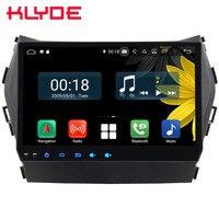 9 ips Octa Core 4G Android 8,1 4 Гб Оперативная память 64 Гб Встроенная память автомобильный DVD плеер радио GPS навигационная система ГЛОНАСС для hyundai Santa Fe