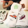 10 Pc/lot Quality Waterproof PVC Drawstring Storage Bag for Shoes Clothes Zakka Organizer Travel Package Bags Fast Shipping