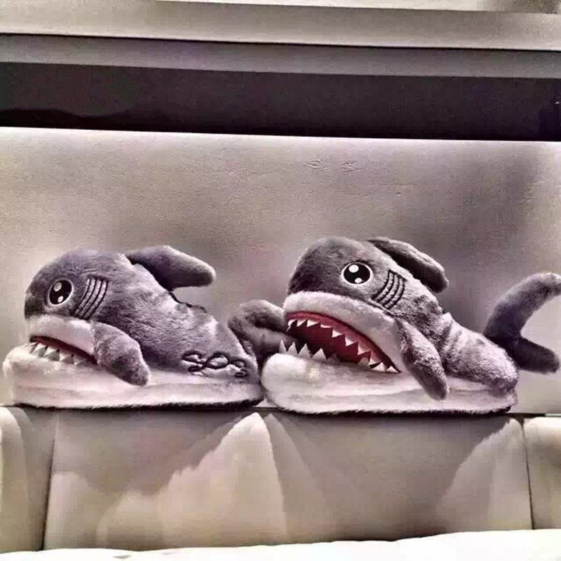 Fashion Shark Cotton Slippers For Ladies