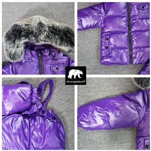 Image 3 - Conjunto de 2 unidades de chaqueta y pantalones para niño, ropa de invierno para niño de 1 a 12 años, prendas de vestir coreanas para niño y niña, prendas de vestir exteriores de piel grande 2019