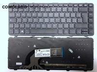 IT Italian Laptop keyboard for HP For ProBook 640 440 445 G1 G2 640 645 430 G2 black keyboard with Backlit frame IT Layout