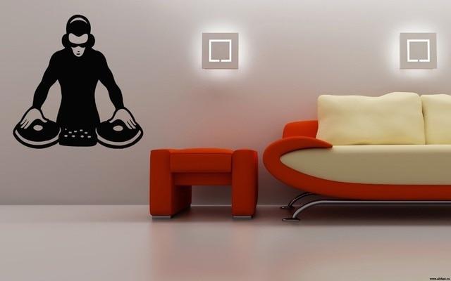 DJ electronic Rave House Techno EDM Music Mix Wall Art Decals ...