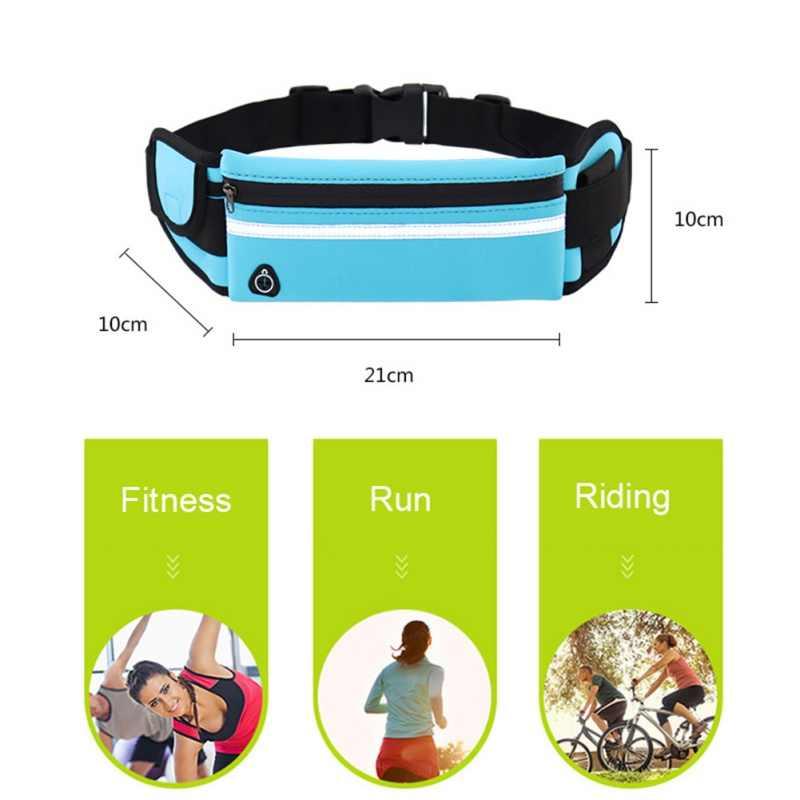 الرجال النساء تشغيل الخصر حقيبة الرياضة حزمة الدراجات حزام حقيبة فاني الخصر الحقيبة في الهواء الطلق السفر سباق التنزه رياضة حقيبة اللياقة