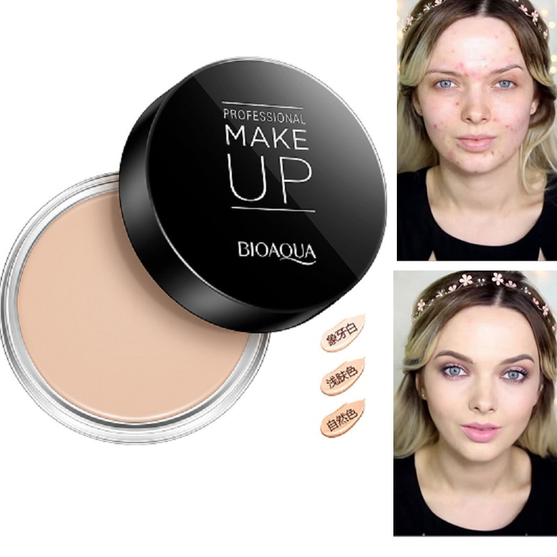 Professional Dark Skin Foundation Face Full Cover Cream Cheap Makeup Palette Face Corrector Concealer Camouflage Makeup image