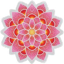 Lotus beach toalla de baño felpudo carpet mandala tapiz indio tapete estera de yoga flor imprimió el mantón de la borla de bohemia protector solar
