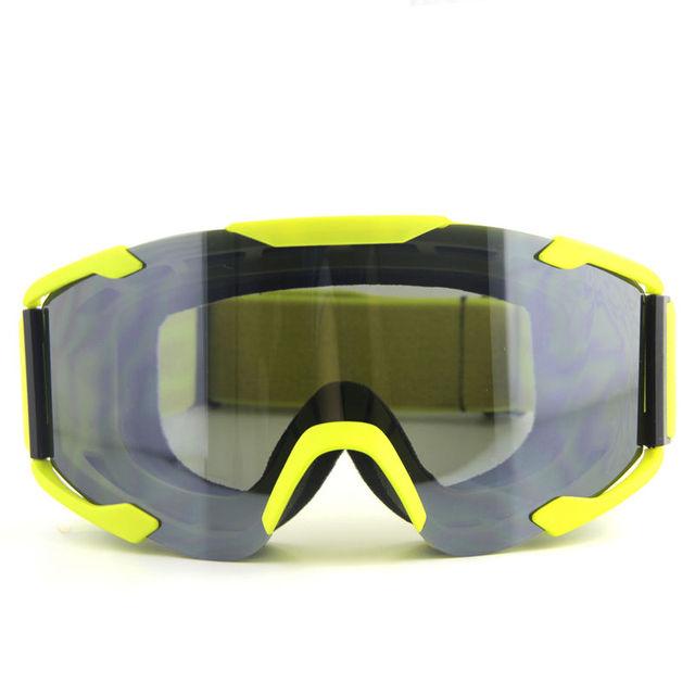 Top Fashion Motos Motocross Óculos De Proteção Da Motocicleta Óculos de Lente Transparente Dust-proof Óculos Capacete de Esqui Óculos De Proteção Para Capacete Da Bicicleta
