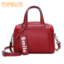 купить POMELOS Handbag Women Messenger Bags Genuine Leather 2019 New Womens Bags Handbags Hand Bag Woman Designer Handbags High Quality по цене 3121.62 рублей