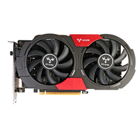Colorful NVIDIA GeForce IGame GTX1050 GPU 2GB GDDR5 128bit Gaming PCI E X16 3.0 Video Graphics Card DVI+HDMI+DP Two Cooling Fans