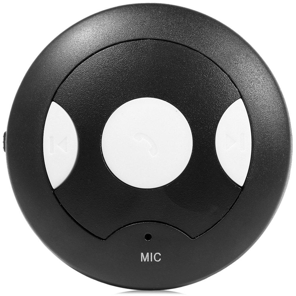 Multifunction Bluetooth Receiver 4.2V 250Mah Portable Black Wireless Bluetooth 4.1 EDR Receiver Bluetooth Hands-free Car Kit