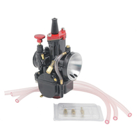 Free shipping Motorcycle 21 24 26 28 30 32 34mm Universal Case For Mikuni Carburetor Parts Scooters With Power Jet