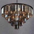 Новый стиль роскошный большой кристальная Подвеска для люстры лампа для гостиной хрустальные люстры бесплатная доставка