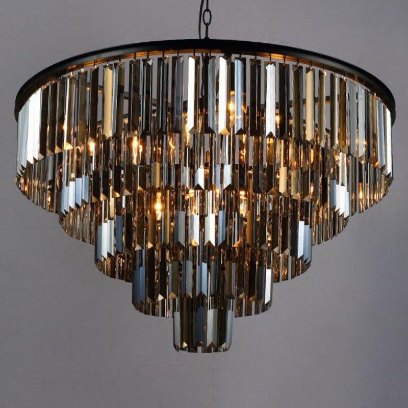 Nowy styl luksusowe duży kryształowy żyrandol kryształ lampa wisząca salon lampy kryształowe żyrandole darmowa wysyłka