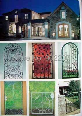 Wrought Iron Gate Cost  Metal Gate Design 4 Foot Metal Gate