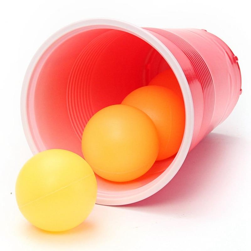 Pong Balls & Cups - Party Beer Pong Fun Kit 4