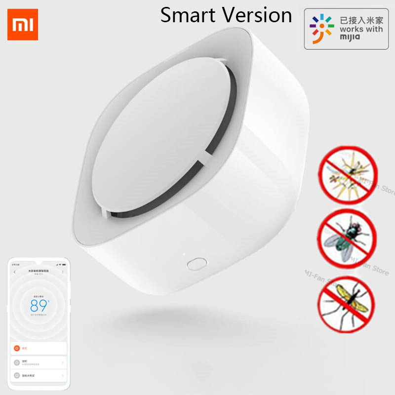2019 New Xiaomi Mijia Mosquito Repellent Killer Smart Version Phone timer switch with LED light use 90 days Work in mihome AP|Smart Remote Control|   - AliExpress