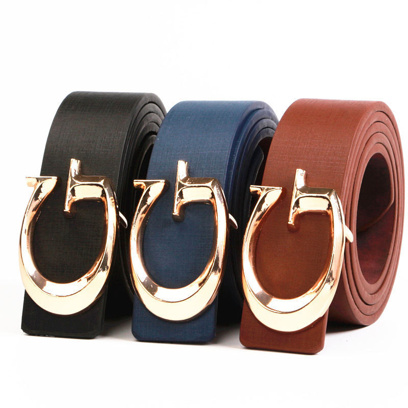 2019 Women Casual G   Belt   Fashion Female Letter Buckle   Belt   Ladies Luxury Designer Brand   Belts   For Dress