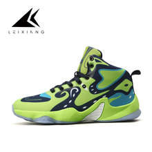 Leixiang Latest Summer Basketball Shoes for Men Comfortable Cushioning Athletic Shoes Outdoor Sport Shoes Basket Sneakers