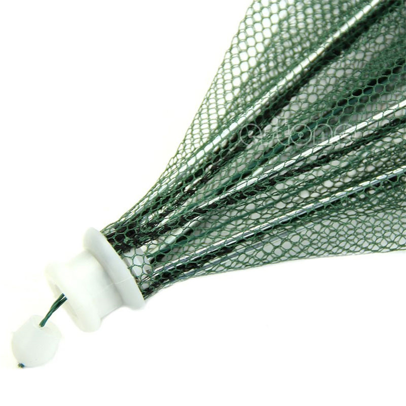 Folded Portable Hexagon 6 Hole Automatic Trap Fishing Net Fish Shrimp Minnow Crab Baits Cast Mesh Trap #4MY10 (2)