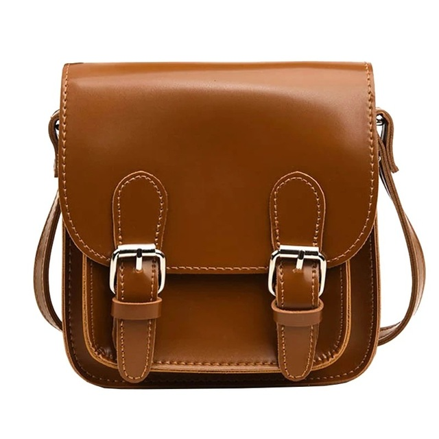 15cb1aa64a Mara s Dream Small Square Flap Bag Fashion Women Messenger Crossbody Bags  Brand Design Sling Shoulder PU Leather Handbags Purses