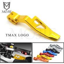 For YAMAHA T-MAX 500 2008-2011 T-MAX TMAX 530 2012-2016 TMAX 530 DX / SX 2017 2018 Motorcycle CNC Aluminum Parking Brake Lever цена в Москве и Питере