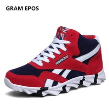 GRAM EPOS Man Fur & Cotton two styles Autumn  Winter Shoes Male Warm Plush Snow High Top Botas Mens Ankle Boots for Cold Winter