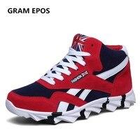 GRAM EPOS Man Fur Cotton Two Styles Autumn Winter Shoes Male Warm Plush Snow High Top