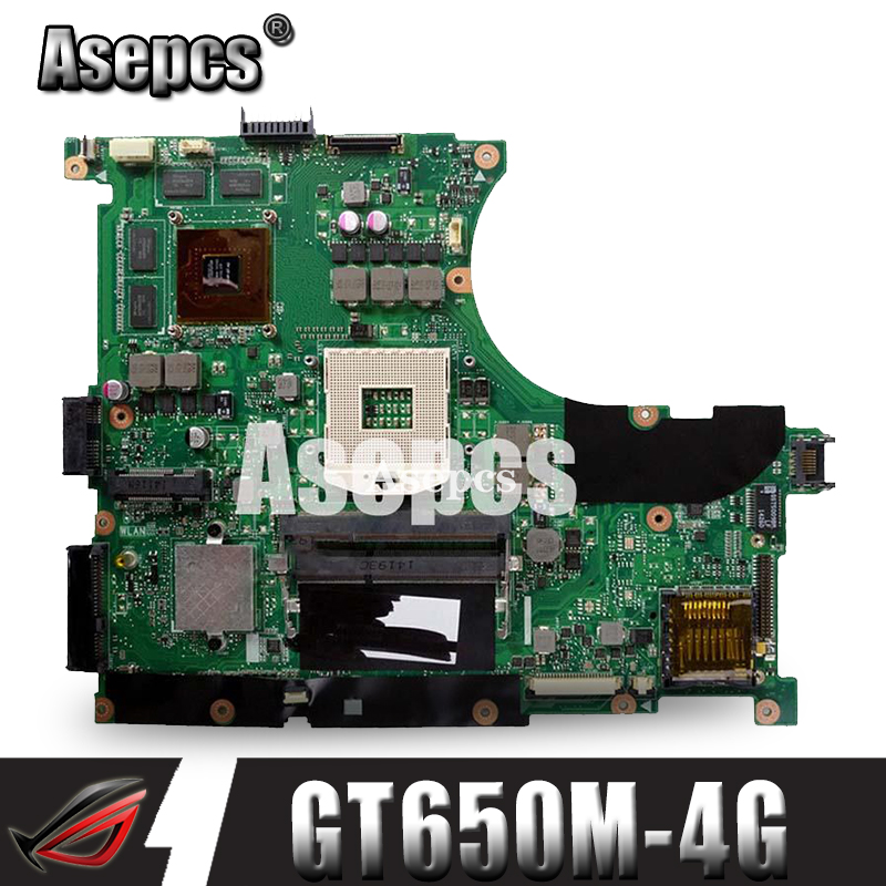Asepcs N56VZ/N56VM Laptop motherboard for ASUS N56VB N56VM N56VZ N56VJ N56V Test original mainboard GT650M-4G Support i3 i5 i7Asepcs N56VZ/N56VM Laptop motherboard for ASUS N56VB N56VM N56VZ N56VJ N56V Test original mainboard GT650M-4G Support i3 i5 i7