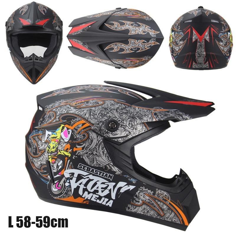 Image 5 - Cool Motorcycle Cross Country Helmet Men And Women Battery Car Helmet Mountain Bike Full Helmet-in Helmets from Automobiles & Motorcycles