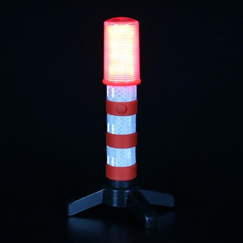 2 STÜCKE LED Tragbare lampe Straße Sicherheit Blinkt Blitz Flare Blitzleuchten Mit 2 stand Für Verkehrs Warnungen/Straßensperren/Camping heißer