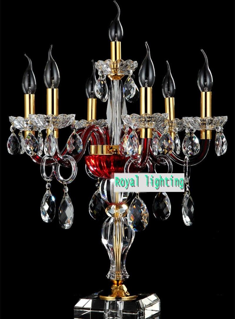 Online kopen wholesale paars glas tafellamp uit china paars glas ...