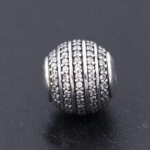 5c1784411 2017 Authentic 925 Sterling Silver Beads Confidence Charm Fit Women  Original Pandora Essence Bracelet Necklace DIY