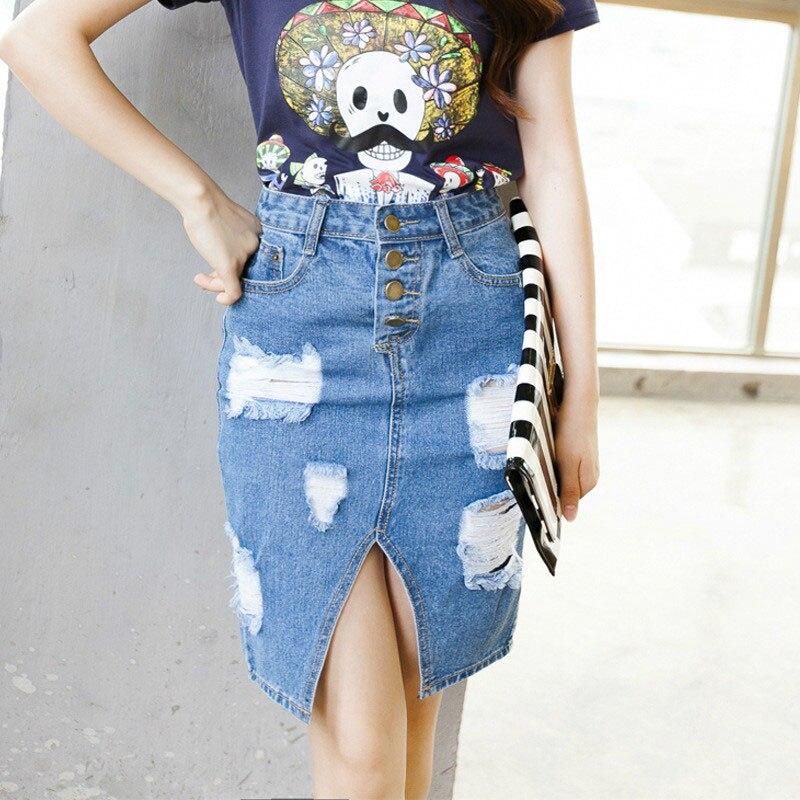 Online Get Cheap Denim Pencil Skirt -Aliexpress.com | Alibaba Group