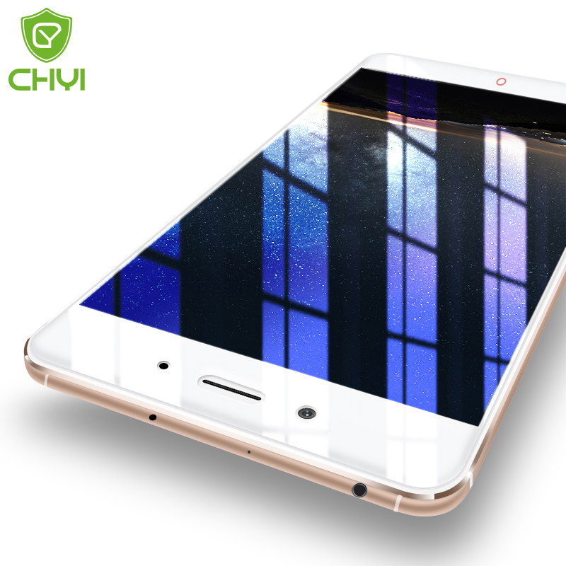 CHYI Tempered Glass For ZTE nubia Z11 Premium Screen Protector Oleophobic Coating 9H 2.5D Glass Protective Brand glass Free Gift