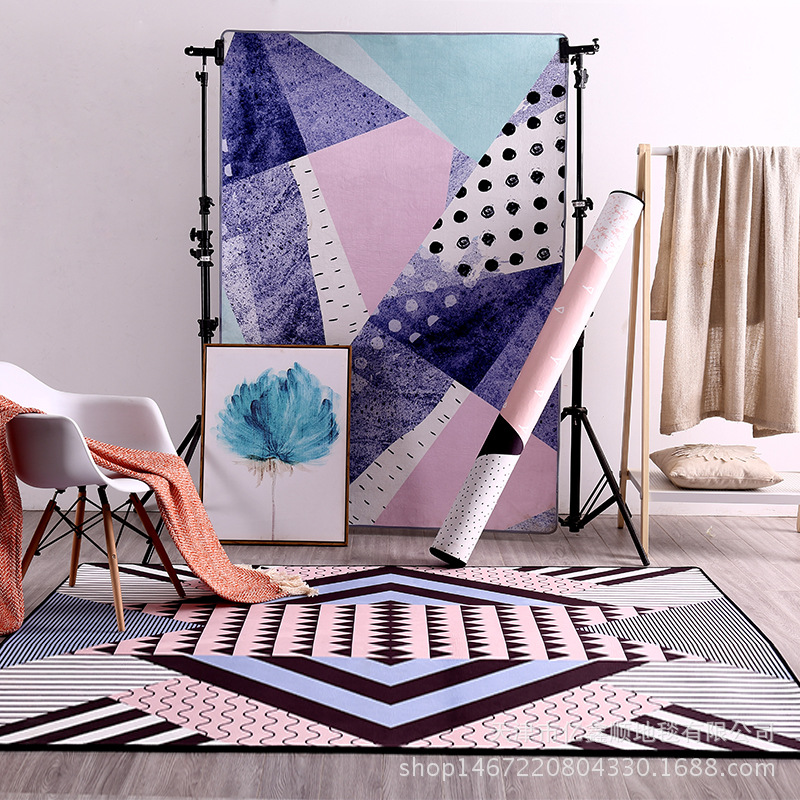 HUAMAO 140*200cm Modern geometry Carpets For Living Room Home Bedroom Rugs And Carpets Coffee Table Brief Area Rug Kids Play MatHUAMAO 140*200cm Modern geometry Carpets For Living Room Home Bedroom Rugs And Carpets Coffee Table Brief Area Rug Kids Play Mat