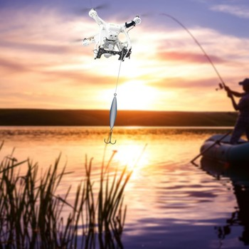 Shinkichon Pelter Fish Bait Advertising Ring Thrower Air Dropping Double Release Thrower Device for DJI Phanttom 3A/3P