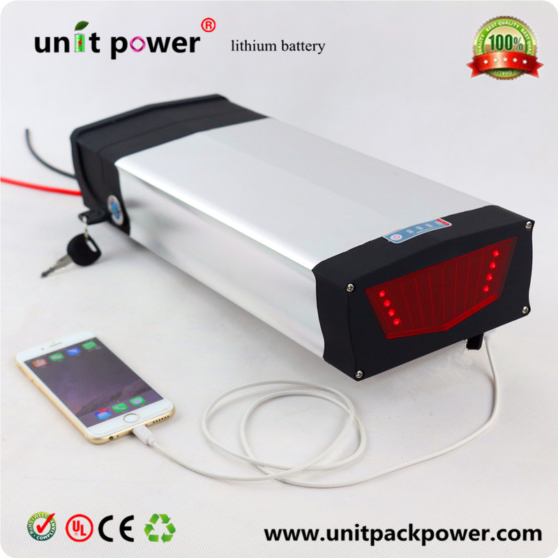 48V 750W 1000W 1200W Electric Bicycle Battery 48V 25Ah NCR18650PF cells Lithium Battery with USB 2.0 Port and 3A Fast Charger free customs taxes high quality skyy 48 volt li ion battery pack with charger and bms for 48v 15ah lithium battery pack