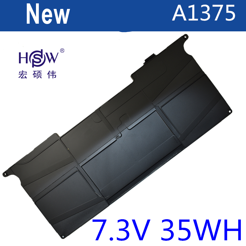 HSW notebook battery for APPLE A1370 (2010 version) A1375 FOR MacBook 11 Air MC505LL/A,MC506LL/A,MC507LL/A,MC969LL/A bateria apple mkhj2ru a