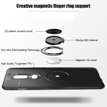 Newly Mobile Phone Cover Case Shockproof Finger Ring Holder Magnetic for Oneplus 7 Pro DC128