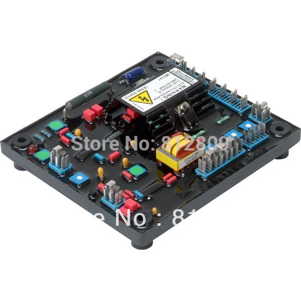 AVR MX341 RED COLOR  3 phase automatic voltage regulator avr stabilizer avr mx341 red with fast free shipping