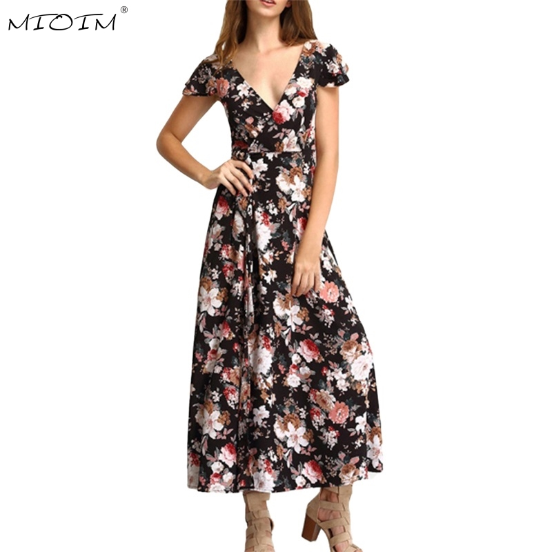 Floral Summer Dresses Women