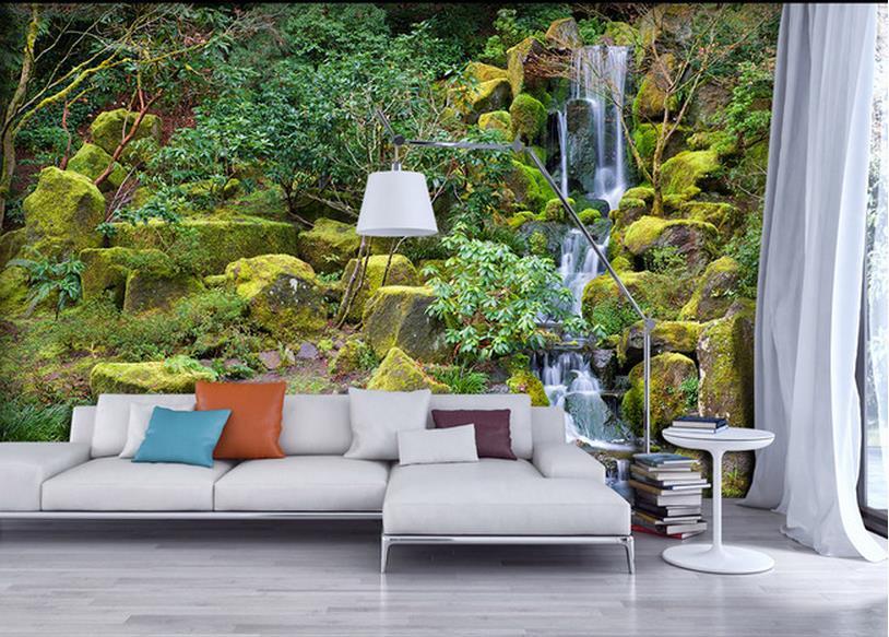 Kustom wallpaper papel De Parede HD gunung air terjun
