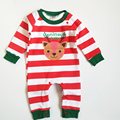 Baby Rompers Cotton Character Deer Fashion Long Dleeve New Born Baby Boy Clothes Warm Baby Chirstmas Costume