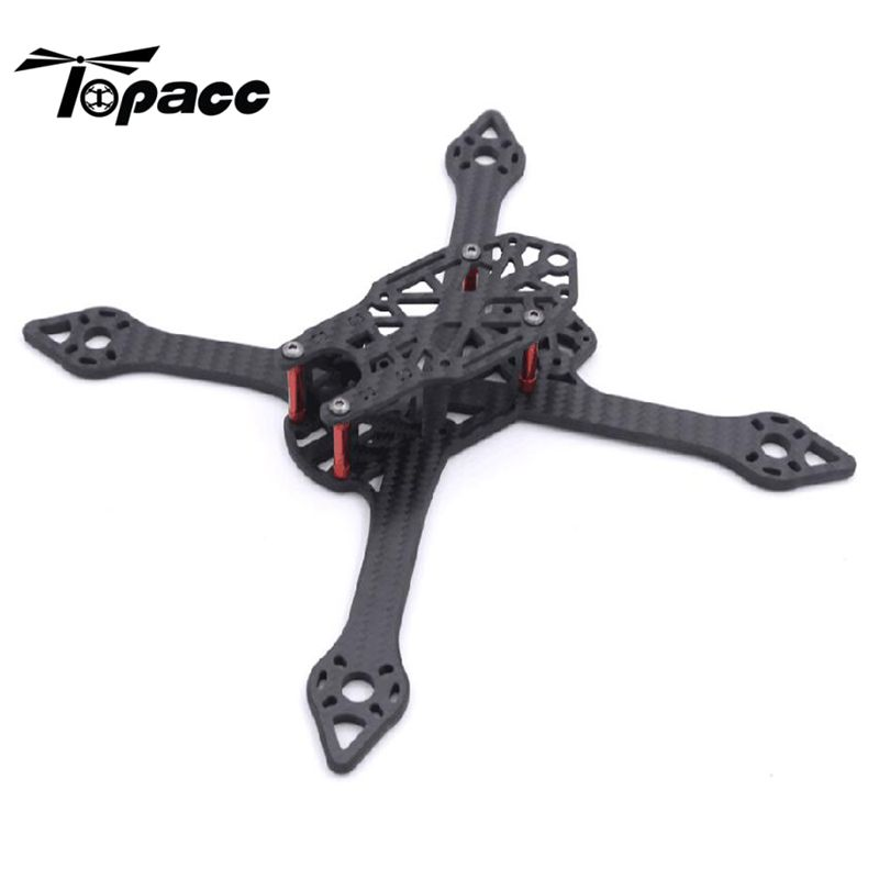 Thor 210V2 205mm X Structure 5mm Arm Carbon Fiber FPV Racing Frame 75g For RunCam Swift Mini / FOXEER ARROW Mini кама euro 228 205 75 r15 97t