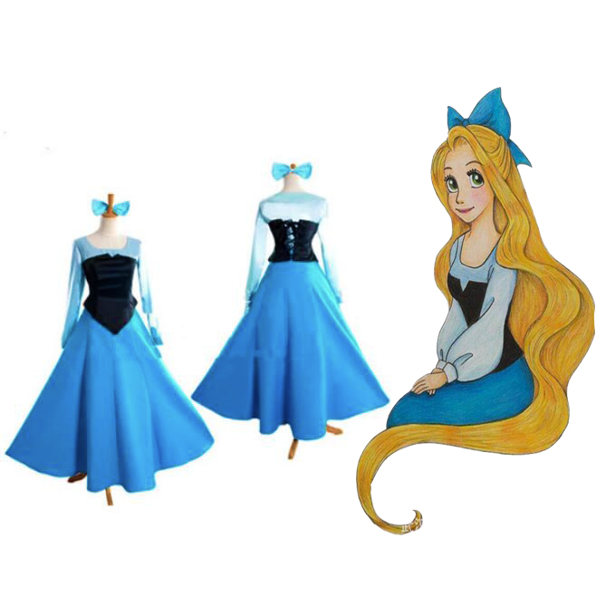 Anime The Little Mermaid Ariel Princess Cosplay Costume for Adult Women Girl Halloween Dress Ariel Costume Free Headwear