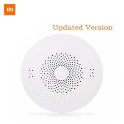 Upgraded Xiaomi Mijia Smart Home Multifunctional Gateway 2 Alarm System Intelligent Online Control Radio Yi Camers Door Sensor